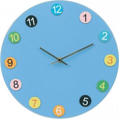Tiq Play & Learn blauw 30 cm klok