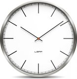 LEFF Amsterdam One White Index 25 cm klok_