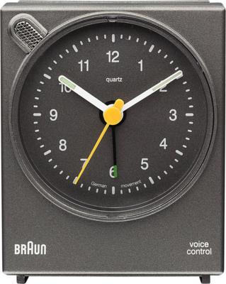 Braun BNC004 grijs 7 cm wekker