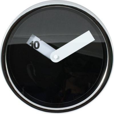 Tiq Disk zwart 20 cm klok