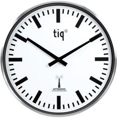 Tiq Station 38 cm radiogestuurde klok