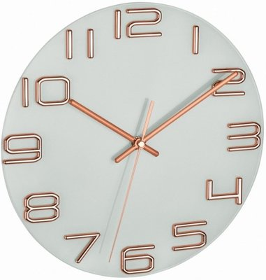 TFA Copper 30 cm klok