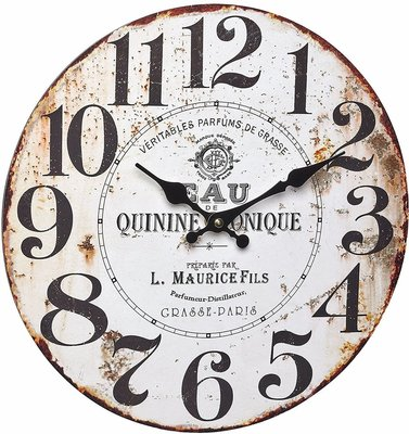 TFA Vintage Tonique 33.7 cm klok