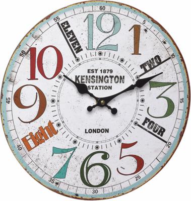 TFA Vintage Kensington 33.7 cm klok