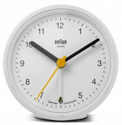 Braun BC12W wit 8 cm wekker