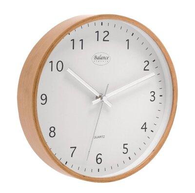Balance Time Woody 25 cm klok