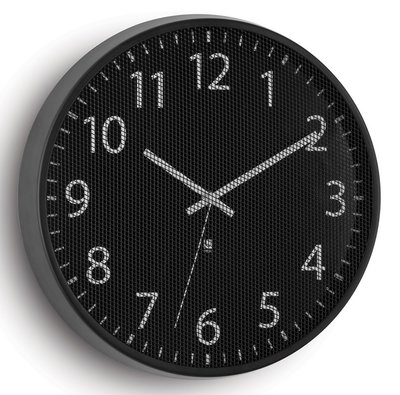 Umbra Perftime black 32 cm klok