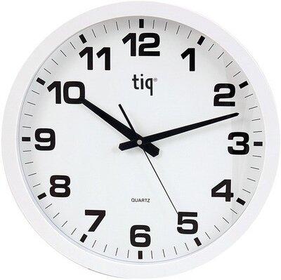 Tiq Basic white 40 cm klok