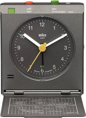 Braun BNC005 grijs 7 cm wekker