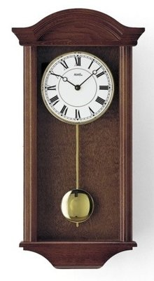 AMS Classic Line Devon notenhout regulateur klok