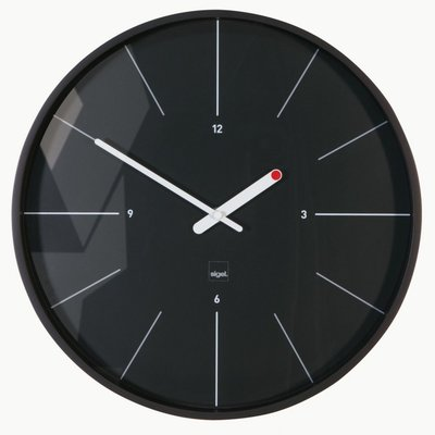 Sigel Ondo zwart 36 cm radiogestuurde klok