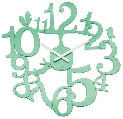 Koziol PI:P mint green 45 cm klok