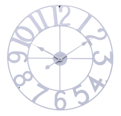 Balance Time Retro Grey 60 cm klok