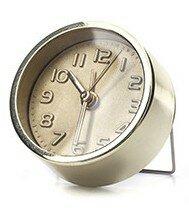 Kikkerland Mini Gold Alarm Clock 4 cm wekker