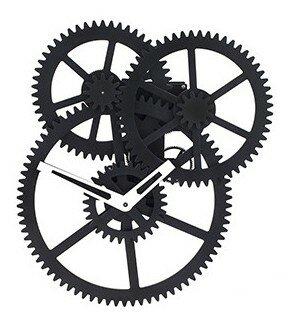 Kikkerland Triple Gear 45 cm klok