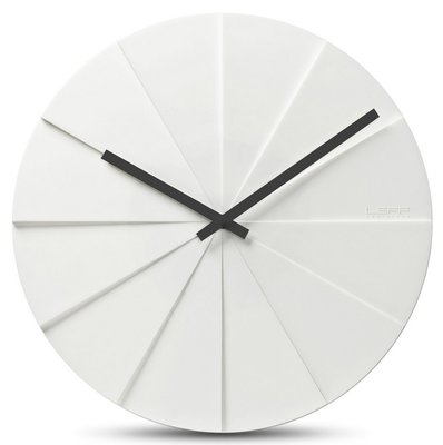 LEFF Amsterdam Scope White 38 cm klok