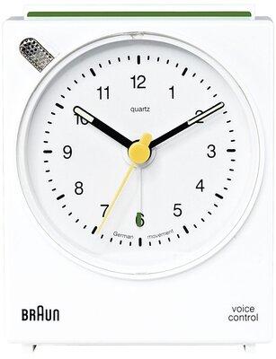 Braun BNC004 wit 7 cm wekker