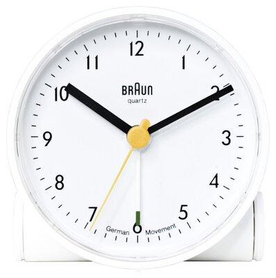 Braun BNC001 wit 7 cm wekker