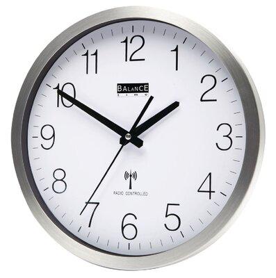 Balance Time Grey radiogestuurde 30 cm klok