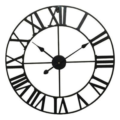 Balance Time Retro Black 60 cm klok