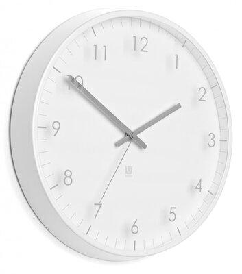 Umbra Pace white 32 cm klok
