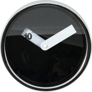 Afbeelding van Tiq Disk zwart 20 cm klok