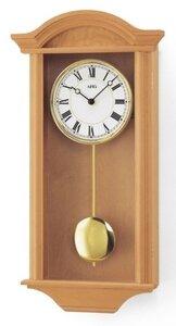 afbeelding van AMS Classic Line Devon beuken regulateur klok