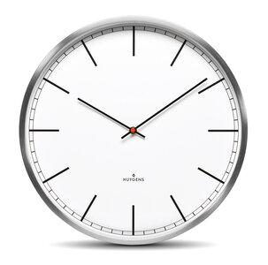 Huygens One White Index 25 cm klok