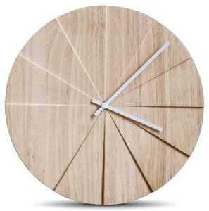 LEFF Amsterdam Scope Natural 38 cm klok