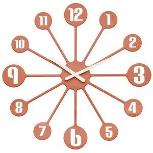 Afbeelding van Koziol Pinball solid copper 45 cm klok
